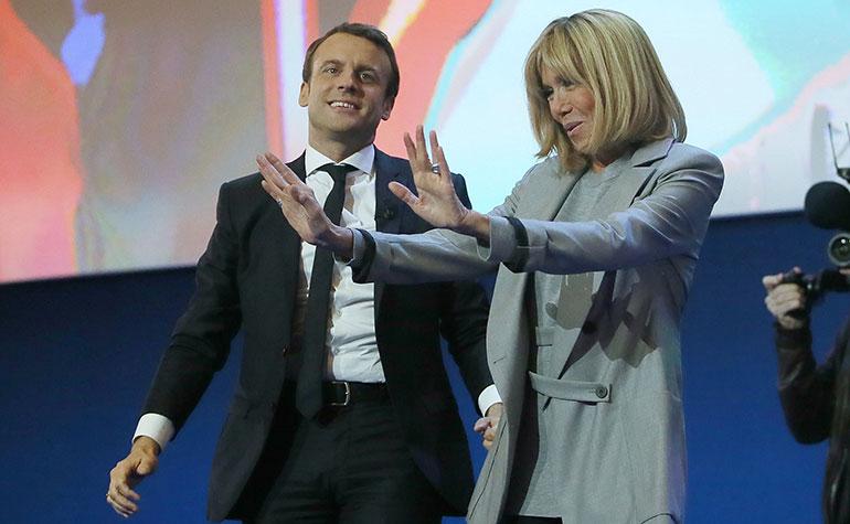 Ranskan Presidentin Vaimo