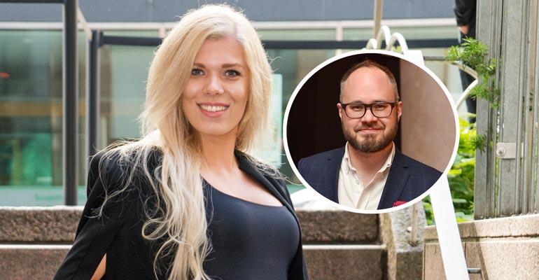 Eveliina Tikka kommentoi suhdettaan Tuomas Enbuskeen.