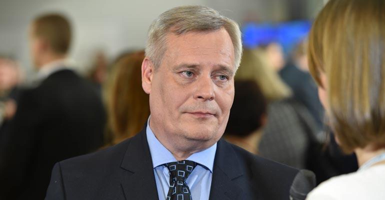 Antti Rinne Nuorena
