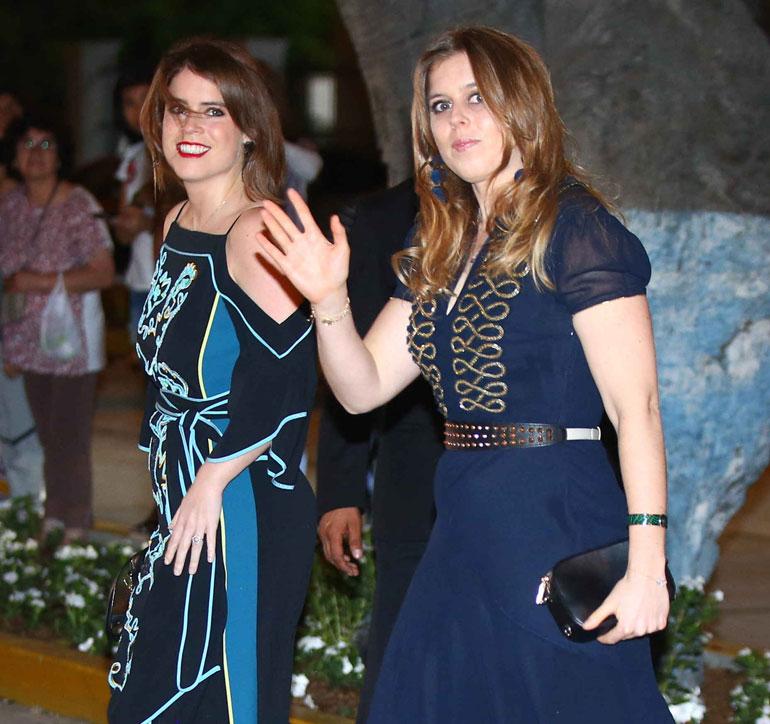 Prinsessat Beatrice ja Eugenie