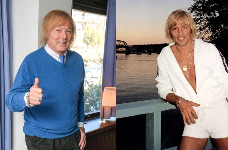 Danny nyt ja vuonna 1977.