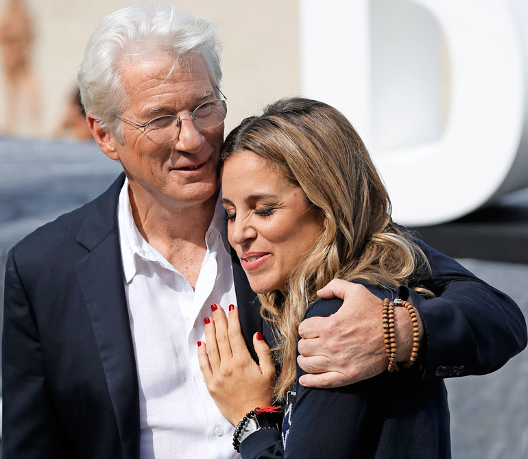 Richard Gere ja Alejandra Silva