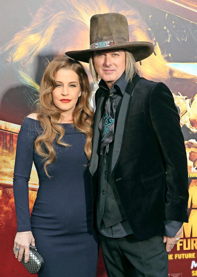 Lisa Marie Presley ja Michael Lockwood