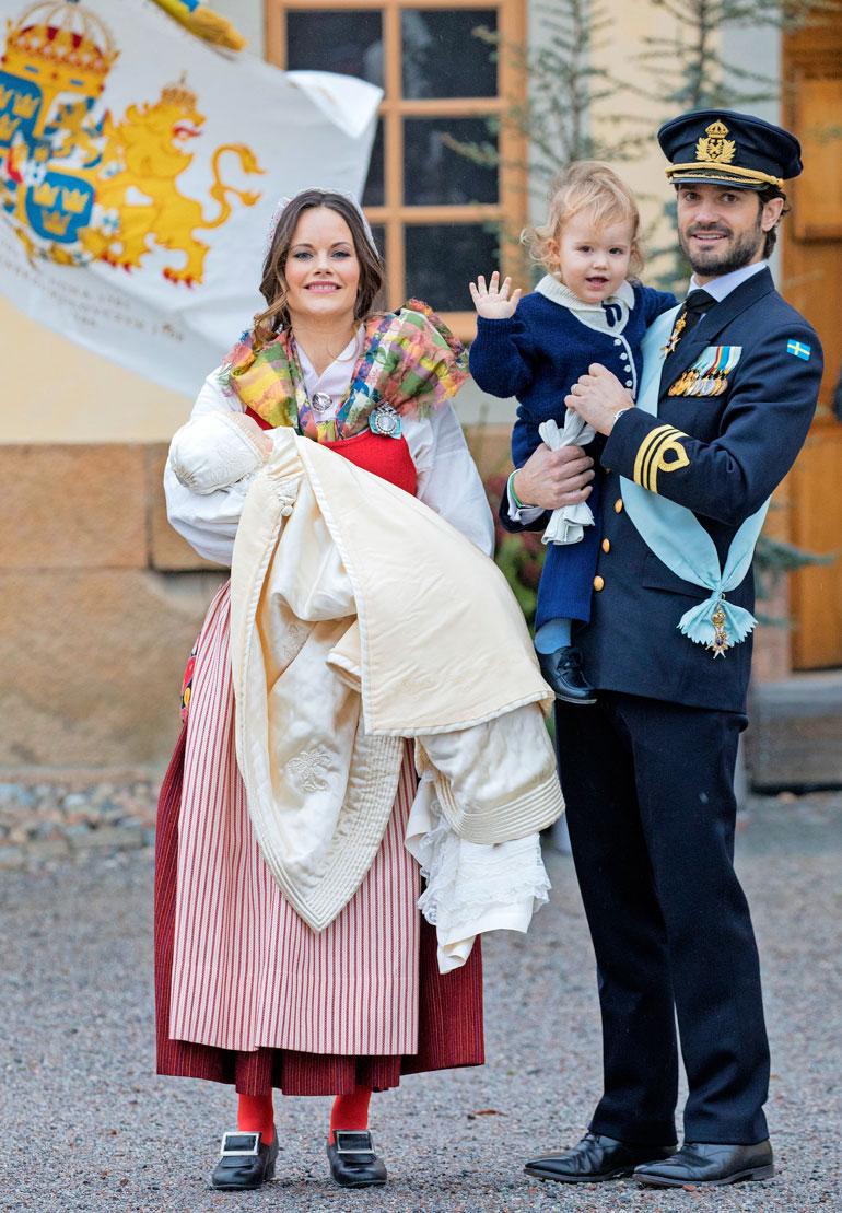 Ruotsin prinssi Carl Philip, prinsessa Sofia, prinssi Alexander ja prinssi Gabriel