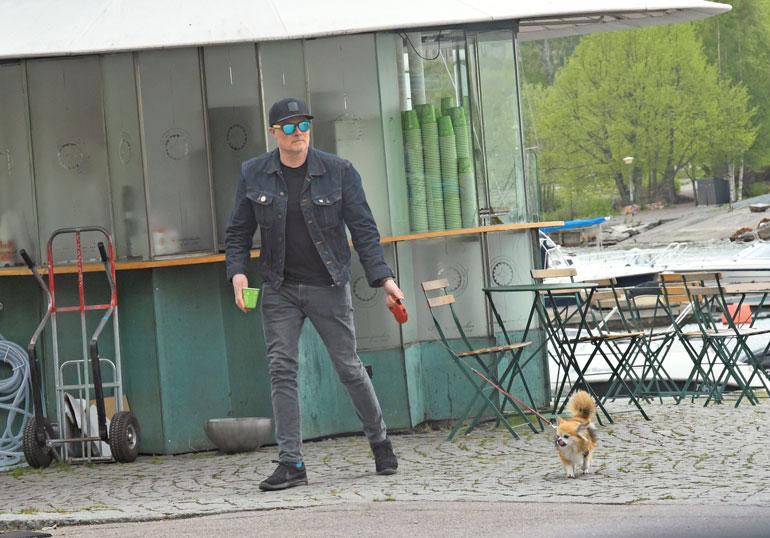 Hissun Pancho-koira on myös julkkis tv-ohjelmien kautta.