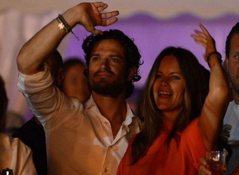 Ruotsin prinssipari Carl Philip ja Sofia