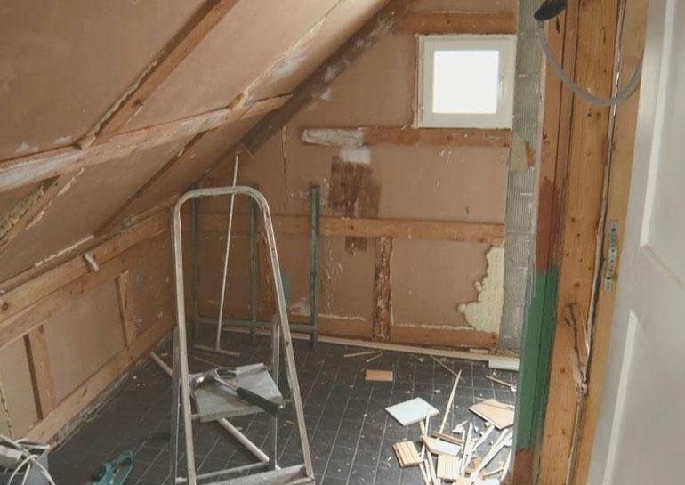 Sauna pesuhuoneineen oli rakennettu vesieristeitä myöten väärin.