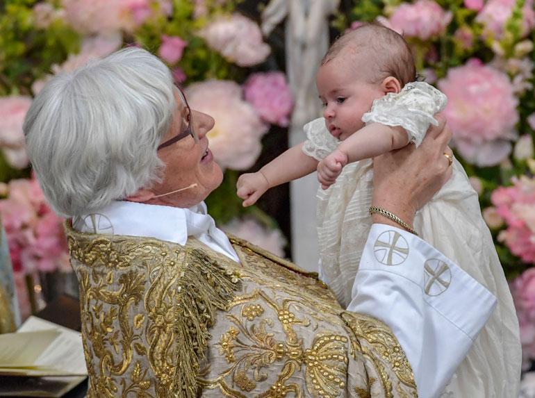 Arkkipiispa Antje Jackelén ja prinsessa Adrienne