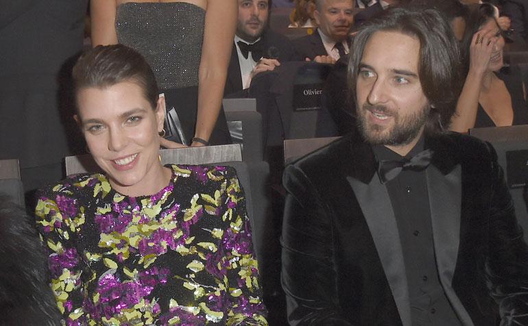 Charlotte Casiraghi ja Dimitri Rassam