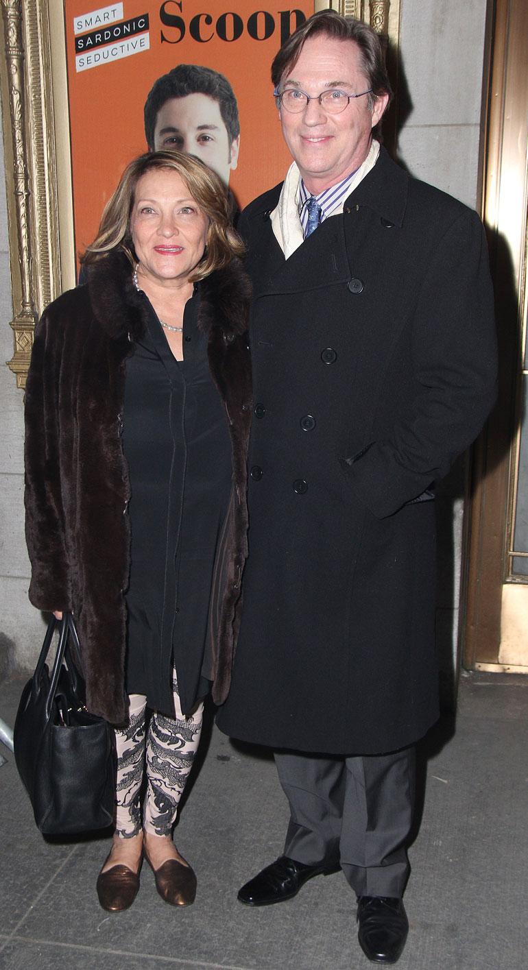 Richard Thomas ja Georgina Bischoff