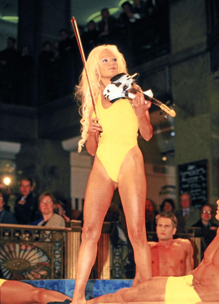 Lindan Lampeniuksen suosio oli huipussaan 20 vuotta sitten.