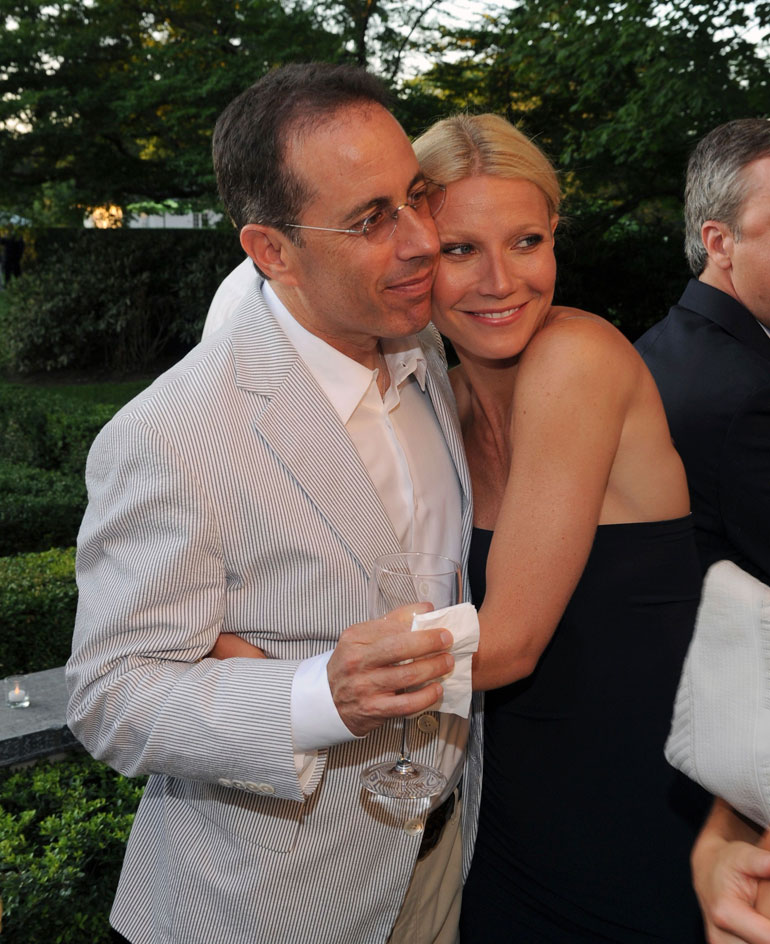 Gwyneth Paltrow ja Jerry Seinfeld