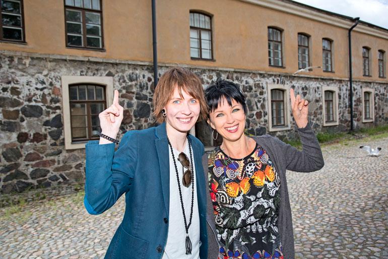 Suomenlinna on ollut sekä Eliyalle että Katalle tärkeässä roolissa. He olisivat voineet törmätä siellä toisiinsa jo 15 vuotta sitten.