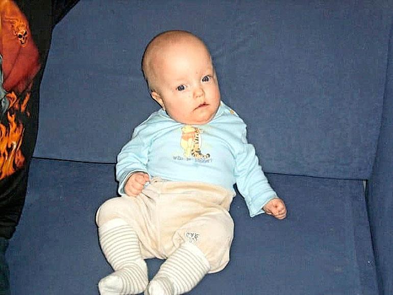 Mika syntyi keskosena, mutta on nyt ikäistensä kokoinen.