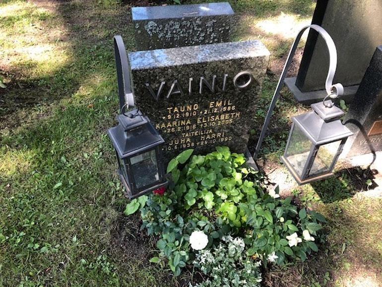 Juha Vainion hauta