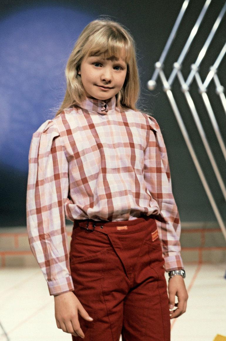 Jonna Tervomaa vuonna 1983.