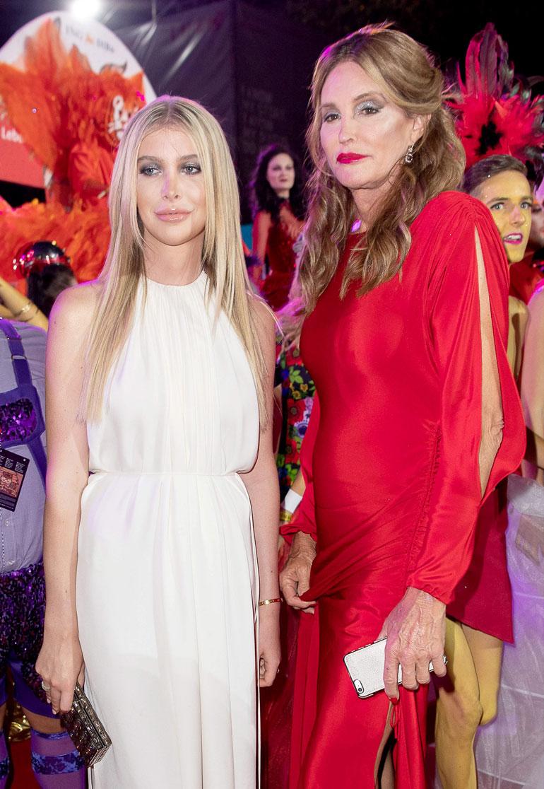 Sophia Hutchins ja Caitlyn Jenner