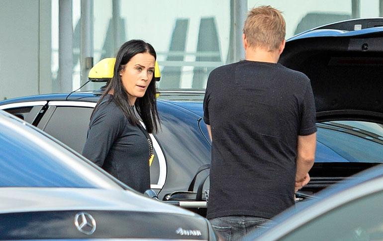 Stefan ja Martina palasivat viime viikon maanantaina Las Vegasista totisina.