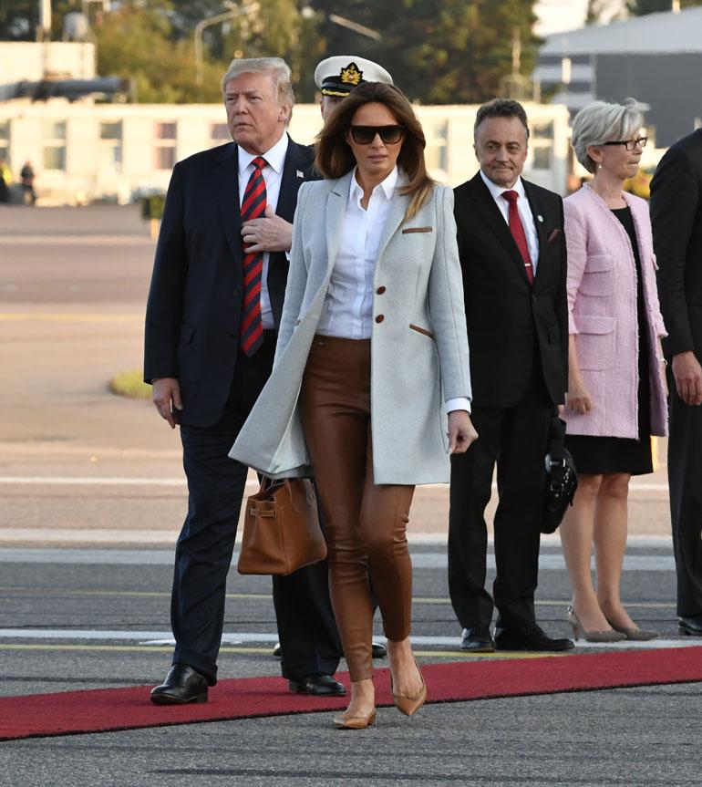 Melania ja Donald Trump