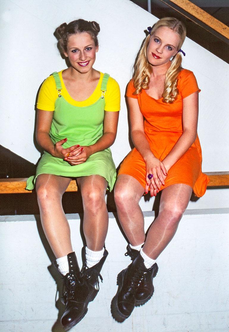 Nylon Beat näytti perustamisvuonnaan 1995 tältä. Risto muistaa Erinin ja Jonnan hihttelystä ja sekoilusta.