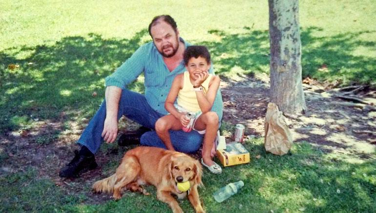 Isän ja tyttären suhde oli aikoinaan hyvä. Nykyään asiat ovat erilailla.