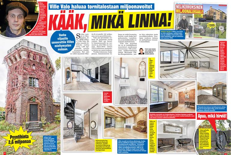 SEISKA 47/2015 Ville on yrittänyt kaupata taloaan tuloksetta jo kolme vuotta.
