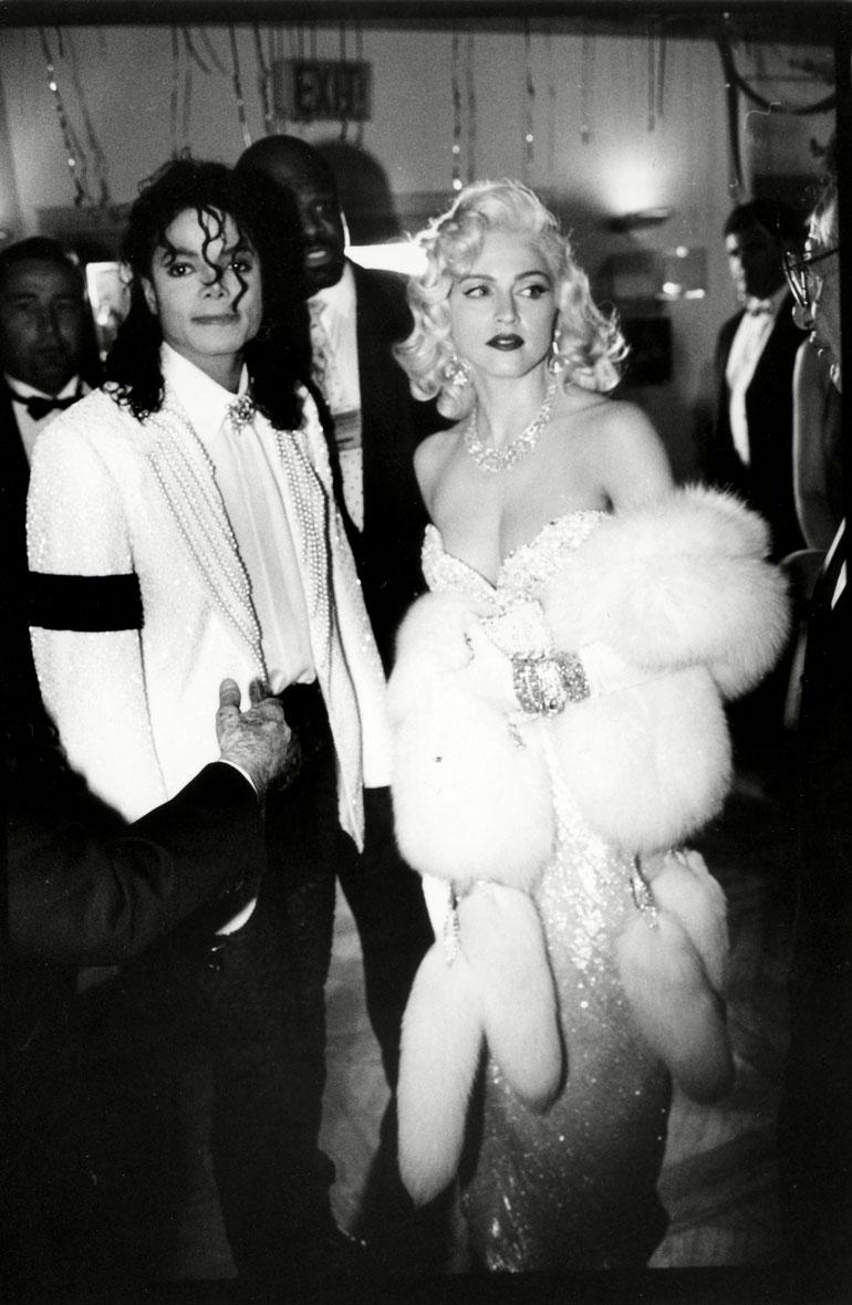 Madonnan ja Michael Jacksonin suhteesta huhuttiin vuonna 1991.