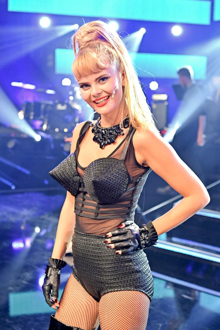Erika ihastutti Tähdet tähdet -kilpailussa viime syksynä esittämällä Madonnan Vogue-kappaleen.