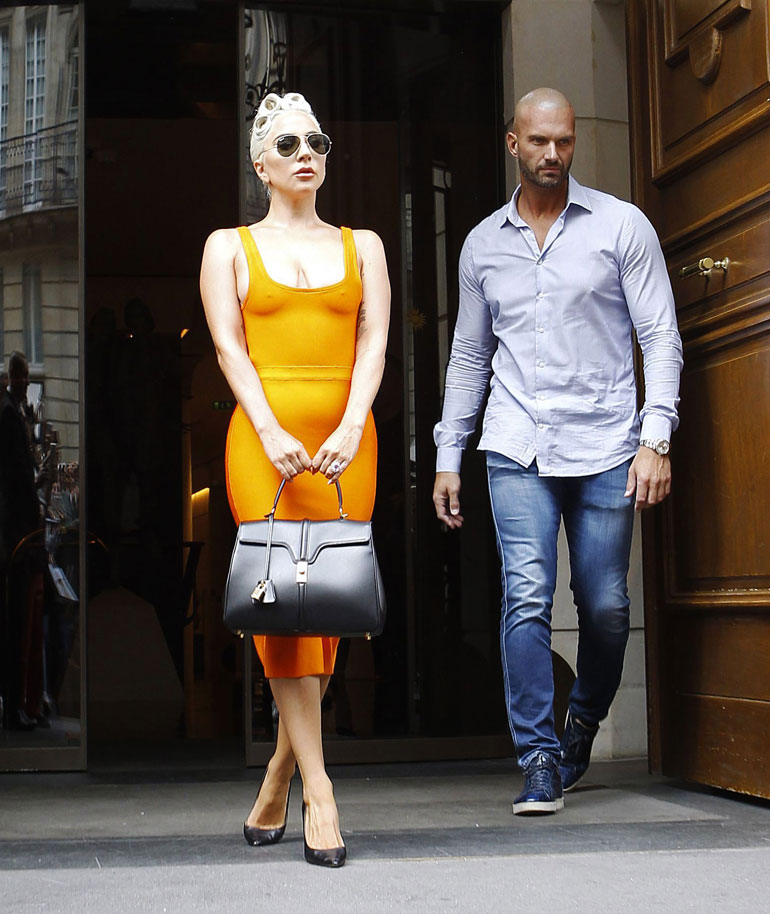 Lady Gaga Pariisissa
