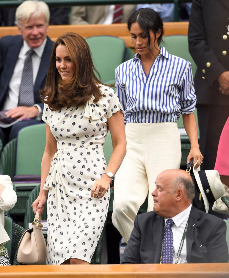 Sussexin herttuatar Meghan ja Cambridgen herttuatar Catherine