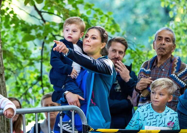 Ruotsin kruununprinsessa Victoria ja prinssi Oscar