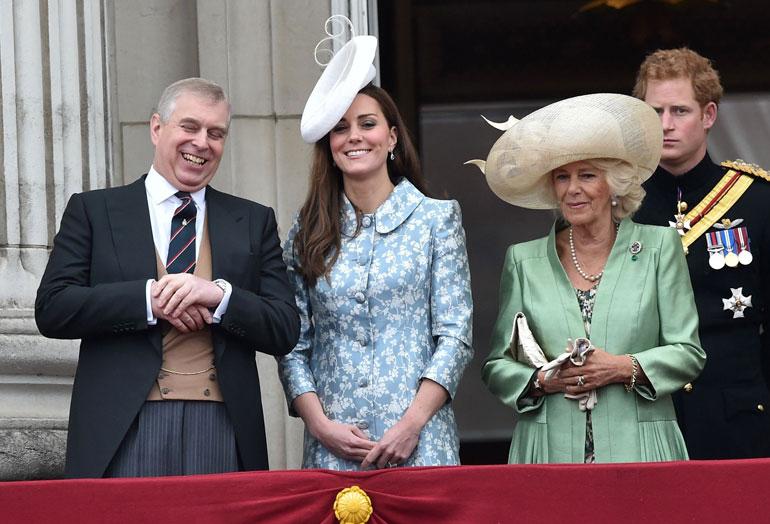 Prinssi Andrew ja Cornwallin herttuatar Camilla