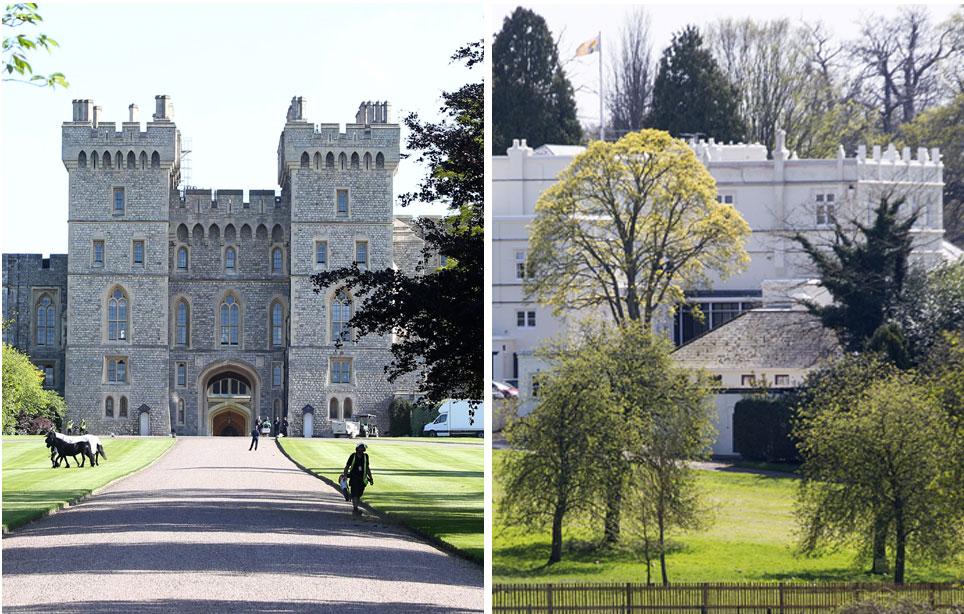 Windsorin linna ja Royal Lodge