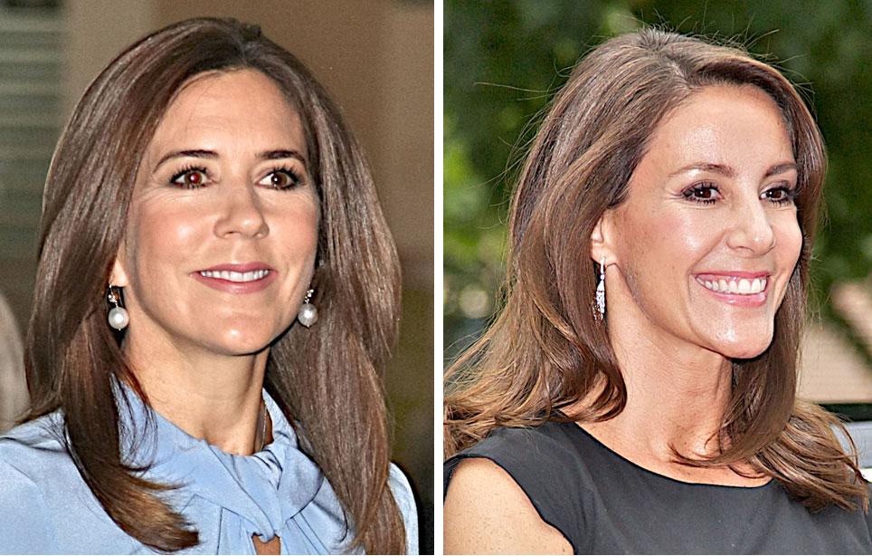 Tanskan kruununprinsessa Mary ja prinsessa Marie