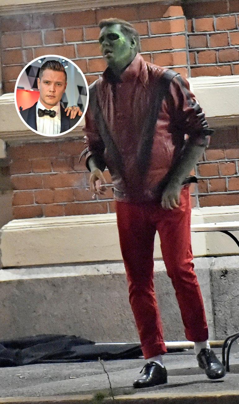 Mallipoju Joonas Wörlin oli pukeutunut Michael Jacksoniksi. Mies veti tupakkia keuhkoihinsa ja rupesi yskimään todella huolestuttavan kuuloisesti.