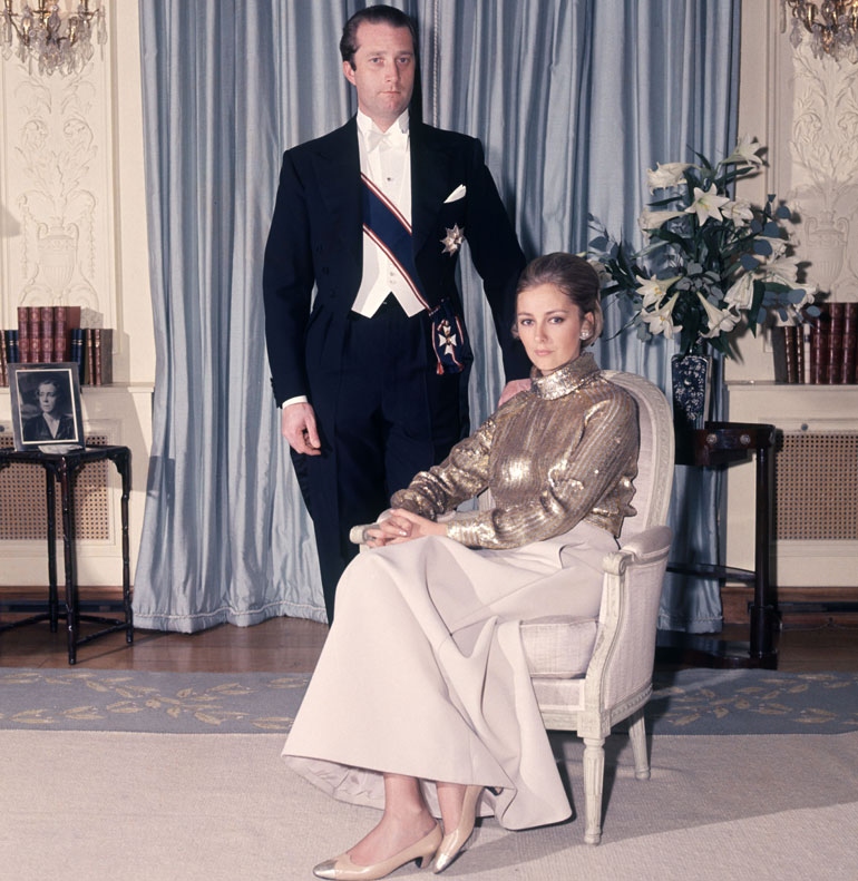 Belgian kuningas Albert ja kuningatar Paola