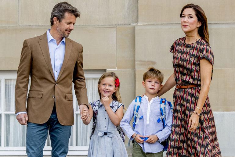Tanskan prinsessa Josephine ja prinssi Vincent