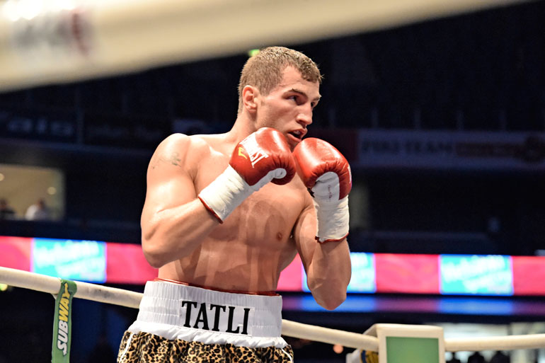 Edis Tatli voitti Euroopan mestaruuden toistamiseen viime joulukuussa.