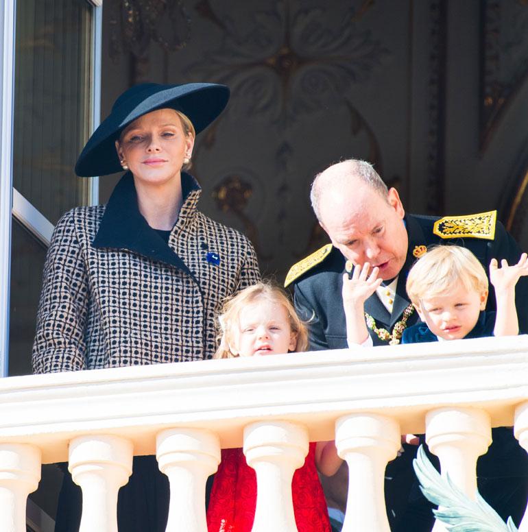 Monacon prinssi Jacques ja prinsessa Gabriella