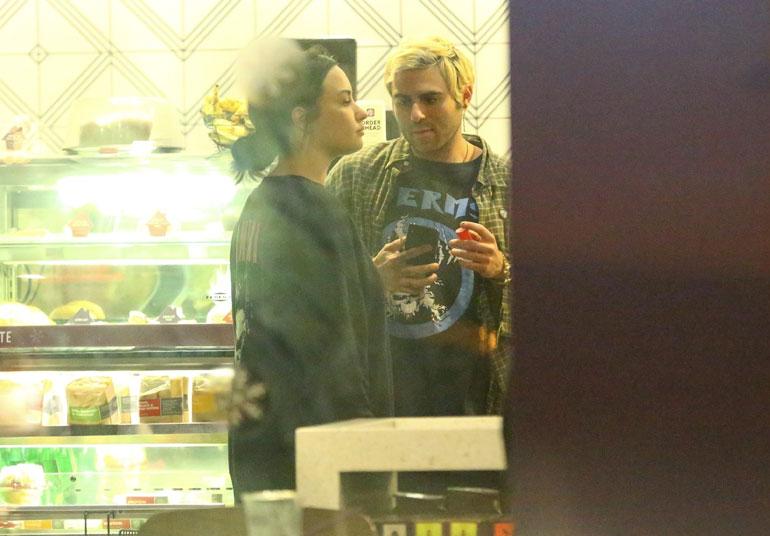 Demi Lovato ja Henry Levy