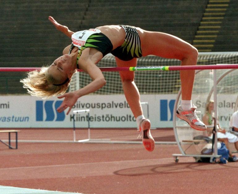 Kaisan (ent. Gustafsson) paraatilaji yleisurheilussa oli korkeushyppy, jossa hän voitti neljä SM-kultaa.