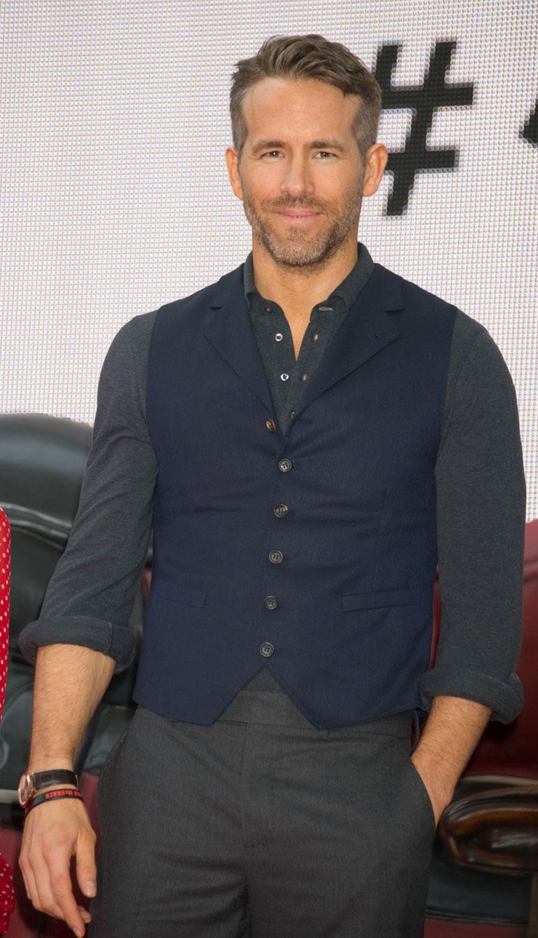 Ryan Reynolds tunnetaan muun muassa Deadpool-elokuvista.