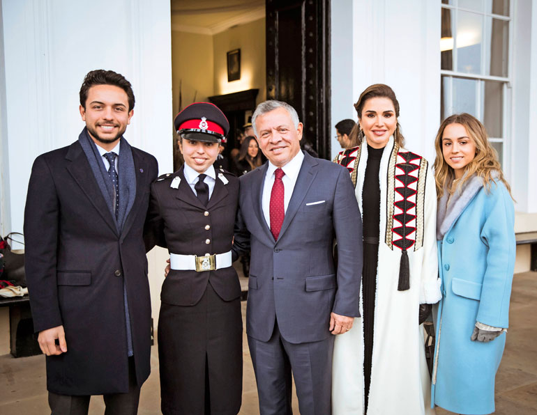 Jordanian prinsessa Salma
