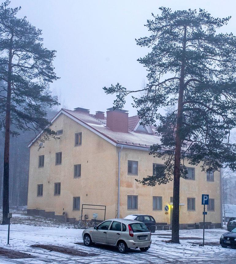 Jaren omistama pienkerrostalo sijaitsee lähellä Lahden keskustaa.