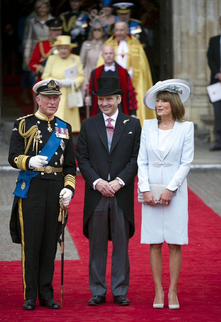 Prinssi Charles, Michael ja Carole Middleton