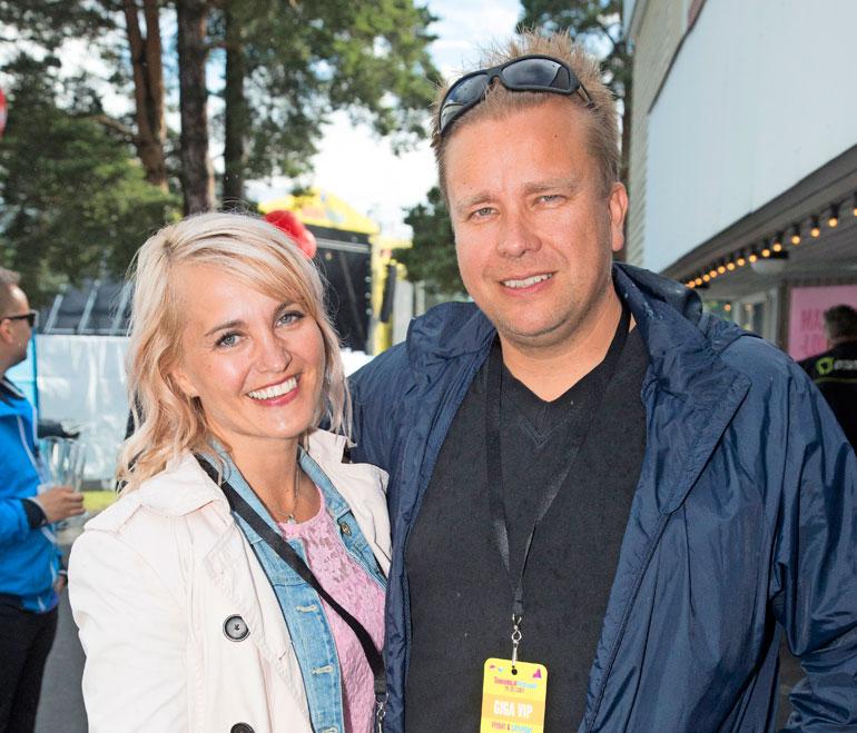 Antti Kaikkonen ja Satu Taiveaho