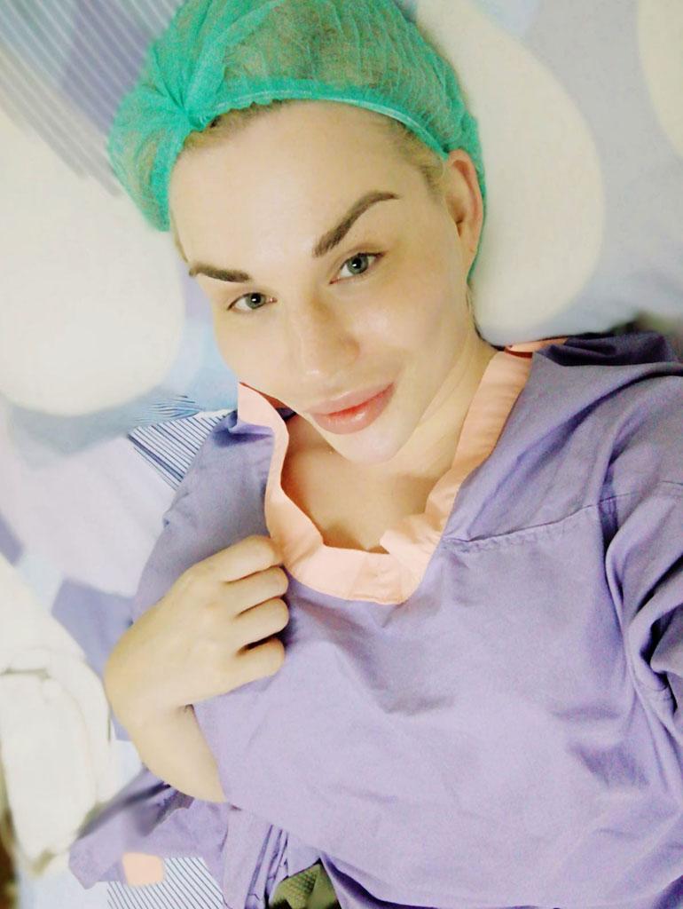Sofia pysyi tyynenä ennen nukutusta. – Olen odottanut tätä operaatiota kaksi vuotta, hän sanoi Seiskalle.