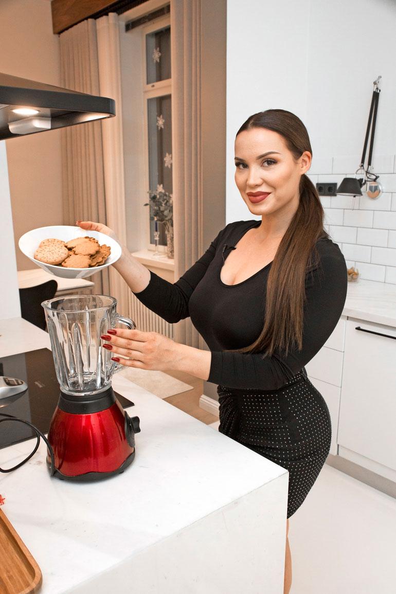 Rovaniemeläinen Mailis muistaa innostuneensa leipomisesta ja ruoanlaitosta jo pikkutyttönä. – Rakastan tehdä hyvää ruokaa ja leipoa erilaisia leivonnaisia.
