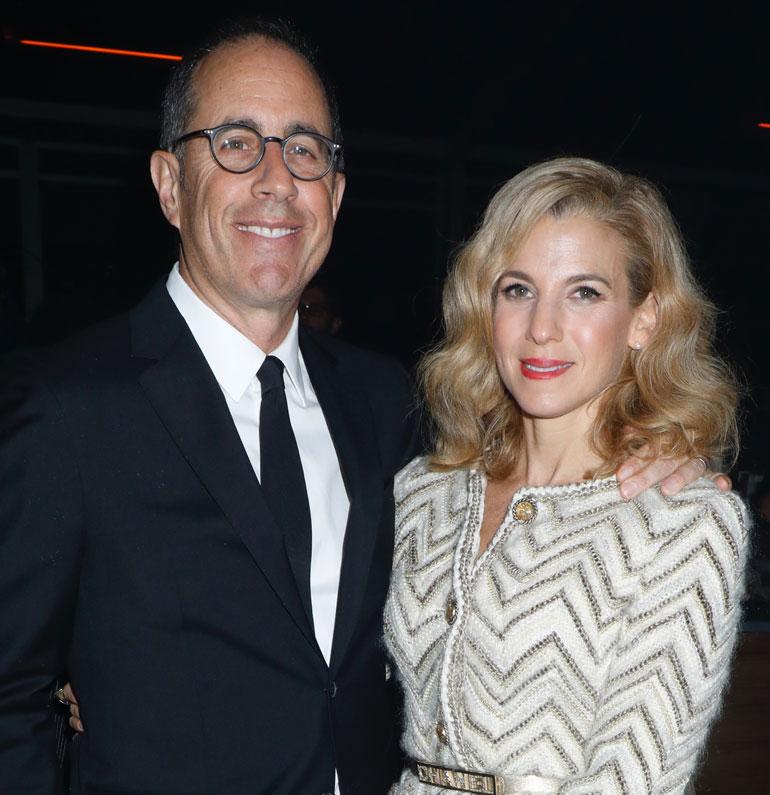 Jerry ja Jessica Seinfeld