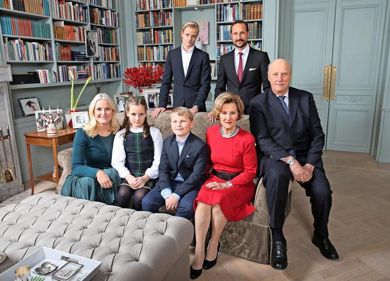 Norjan hallitsijaperhe